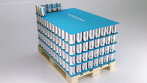 Image of Corram layer pads / pallet divider made from polypropylene corrugated sheets